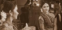 (qrstanvir) Tags: girl monochrome fashion dance indian sony traditional dhaka hindu saree bangladesh bengali