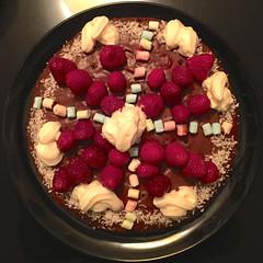 Sweet Cake (hansn (2.5+ Million Views)) Tags: food color colour cake circle square sweet sweden homemade raspberry alingsås sverige hallon squared tårta squarish alingsas bildström
