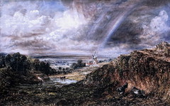IMG_1612 John Constable. 1776-1837. Hampstead Heath with a Rainbow. Hampstead Heath avec un arc en ciel. 1836. Londres Tate Britain. (jean louis mazieres) Tags: greatbritain london museum painting unitedkingdom muse londres museo peintures tatebritain peintres johnconstable grandebretagne