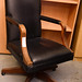 High back leather executive  swivel chair