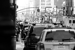 d i m e n s i o n (Chrissy Tha Black) Tags: street new york city nyc morning light portrait blackandwhite bw streets art home monochrome st work canon square creativity 50mm evening shots outdoor manhattan low 34thstreet streetphotography going 300mm midtown explore busy rush hour daytime times activity highlight unexpected 34th attractions springtime artistry offguard yakubs
