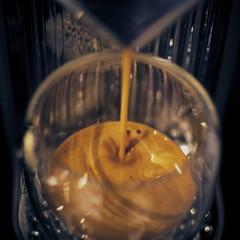 #7 Project365 - Espresso (davidjmclare89) Tags: cup glass coffee project pod 7 capsule indoor espresso 365 crema caffiene nespresso ristretto project365 citiz