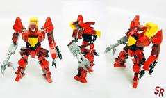 Code Geass Guren MK2 Original mini model 3 (shirokeima) Tags: anime robot code lego shiro mecha moc geass shirokeima