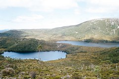 Cradle Mountain - Dove Lake and Lake Lilla (Milo R.) Tags: leica analog highlands kodak australia tasmania portra cradle dovelake cradlemountain gondwana