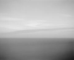 Line (GrisFroid) Tags: ocean longexposure sea bw seascape 120 mamiya film water monochrome ilford rz67