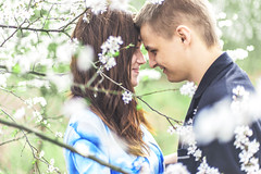 paulina&damian.00 (guzik_) Tags: boy flower love girl happy 50mm spring nikon couple bokeh 50mm14 nikkor polishgirl d610 polishboy