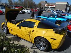 2007 Chevy Corvette (splattergraphics) Tags: chevy corvette carshow c6 2007 burtonsvillemd churchoftheholydonut