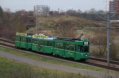 2016-01-14, BVB, Pratteln Lachmatt (Fototak) Tags: switzerland tram basel strassenbahn schindler bvb 501 ffa ligne14 cornichon 1470 473