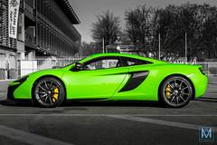 McLaren 650S (*AM*Photography) Tags: auto bw white black color green car nikon automobile profile bn exotic mclaren british rare supercar v8 sportscar supercars d3200 650s worldcars