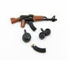 AK47 with Ammo Pack (miniBIGS) Tags: lego rifle minifig custom ak47 minifigure sidan minifigcat minibigs