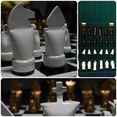 Ajedrez I (Oscar Omar) Tags: arte chess craft ajedrez caos manualidad reusar oscaromar