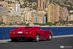 Lamborghini Countach 25th Anniversary (Raphal Belly Photography) Tags: red paris france cars car canon de french rouge photography eos hotel photo automobile shoot riviera photographie photoshoot anniversary south voiture casino montecarlo monaco 98 mc belly 25 7d passion shooting carlo monte 25th raphael rosso lamborghini luxury rb supercar th spotting countach supercars raphal sance rossa principality principaut 98000