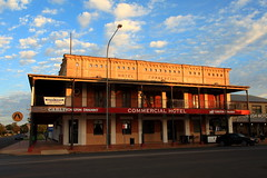 Commercial Hotel, Hay NSW (Darren Schiller) Tags: sunset architecture rural hotel pub community country australia newsouthwales hay verandah smalltown