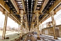 Vanishing Point (Josh Thompson) Tags: chicago l elevatedtracks sigma1020mmf456exdc d7000 lightroom5