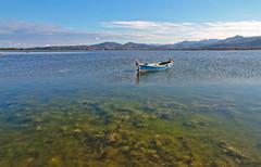 San Teodoro, Sardinia (salvatore zizi) Tags: sardegna sea lake reflections boat san europa europe barca mare sardinia sardinien salvatore zizi teodoro stagno gallura