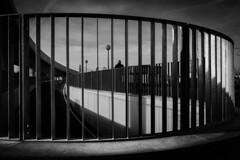...around the light... (ines_maria) Tags: bridge blackandwhite bw brcke