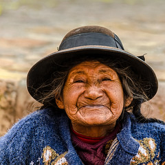 A great smile. (ravalli1) Tags: people woman peru grandmother abuela andes sacredvalley andina travelphotography nikon5100