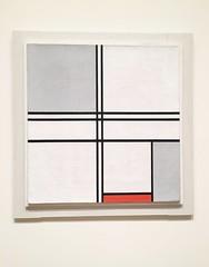 Composition No. 1 Gray-Red 1935 (Claudia Ruge) Tags: pietmondrian artinsituteofchicago