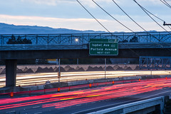 portola exit (pbo31) Tags: california blue winter sunset sky color nikon highway ramp traffic country over overpass rushhour eastbay february livermore alamedacounty 580 2016 lightstream boury pbo31 d810