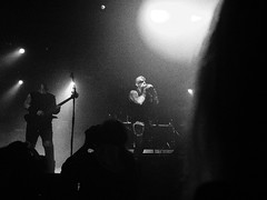 *** (Boris Rozenberg) Tags: light shadow blackandwhite music metal suomi finland blackwhite gig olympus olympuspen guitarist vocal blackmetal horna sargeist behexen steelfest steelfest2015