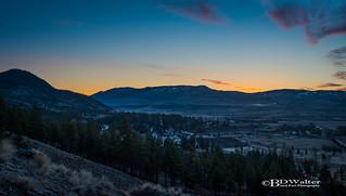 Merritt BC Sunrise