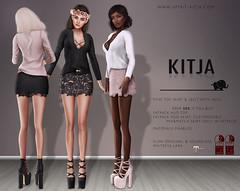 KITJA - Ethe Outfit (ᴋɪᴛᴊᴀ) Tags: original fashion 3d lara uber physique hourglass maitreya slink seconlife meshbody kitja fittedmesh