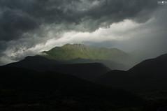 Nasty Weather (kana movana) Tags: travel mountain storm rain weather clouds dark top greece layered d90 trikala