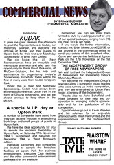 West Ham United vs Everton - 1984 - Page 17 (The Sky Strikers) Tags: park west hammer canon one official kodak united ham division league programme upton everton