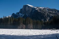 half a dome (renrenskyy) Tags: winter snow yosemite halfdome nationalparks