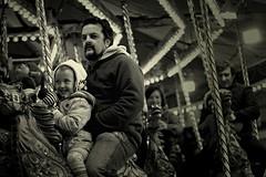 Christmas Market Leeds (kingagerencser) Tags: fun parents dad child market carousel chidhood