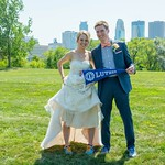 "<b>Matthys Gibson</b><br/> Ashley Matthys and Ean Gibson were married on August 14, 2015, in Minneapolis. They are wearing their running shoes since they met on the cross country team. 14 out of the 18 people in their wedding party were also Luther grads and ran on the track and/or cross country teams.<a href=""http://farm2.static.flickr.com/1449/24849973944_620ef8bfbb_o.jpg"" title=""High res"">∝</a>"