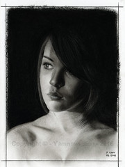 Dessin / Drawing - Imogen Dyer (Original photo by Unexpectedtales)  Yannewvision - 2016 ('Yannewvision') Tags: portrait blackandwhite bw mannequin illustration naked nude model noiretblanc nu drawing picture portrt dessin modelo nackt teen charcoal drawn imogen dibujos modell youngwoman desnudo croquis zeichnung fusain 2016 modle  enblancoynegro jungefrau jeunefemme  anglaise   englishwoman kohlezeichnung  dibujoalcarbn schwarzundweis  imogendyer unexpectedtales yannewvision weeklyimogen flickrunexpectedtales