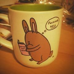 Watership Down! Die ultimative Traumatasse! #watershipdown... (jens.wiesner) Tags: rabbit tasse mugs cartoon hazel mug rabbits watershipdown trauma fiver hasen zeichentrick traumatized martinrosen untenamfluss uploaded:by=flickstagram rabbitsofinstagram instagram:photo=109071561894192563412015061
