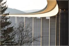 the curve (friedrichfrank1966) Tags: morning bridge highway outdoor autobahn curve brcke morgen kurve bridgepier brckenpfeiler