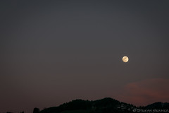 Der Mond ist aufgegangen   Moonrise (stgenner) Tags: moon mond himmel moonrise mondaufgang