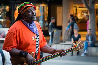 Reggae singer