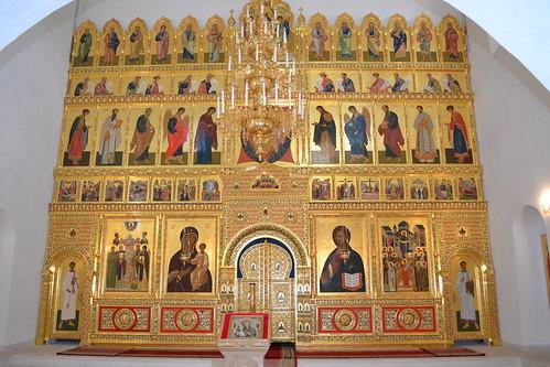 Иконостас церкви Одигитрия