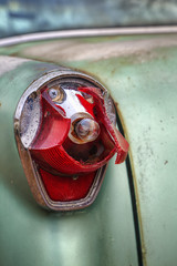 Roadside Rocket (milfodd) Tags: march classiccar oldsmobile 2016 rocket88 singlerawhdr brokentaillight