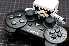 #Controller (David C W Wang) Tags: white black toy controller act   ps3     danboard