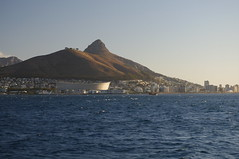 Sunset, Robben Island, Cape Town, South Africa (ARNAUD_Z_VOYAGE) Tags: africa street city mountain building art beach nature architecture table landscape town state action south country capital cap le cape region moutain department metropolitan municipality