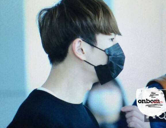 160328 Onew @ Aeropuerto de Incheon {Rumbo a China} 25478126293_fae7739cef_z
