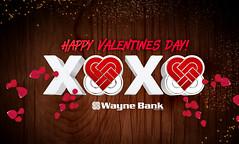 Valentines Day Cover Photo (Justin Roach Work Stuff) Tags: advertising design graphicdesign bank batman scranton valentinesday nepa brucewayne honesdale 570 waynebank