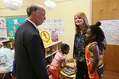 03-14-2016 Tour of Indian Valley Elementary School and Pre-K Classroom