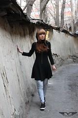 Dubiety (Moein Shakib) Tags: street fashion walking alone iran modeling iranian tehran    persiangirl  kooche