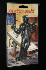 Frankenstein Jiggler ( Vics 1979) (Donald Deveau) Tags: toy rubber frankenstein vics universalmonsters jiggler