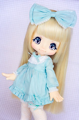 Blue Lolita (Alix Real) Tags: anime girl ball asian outfit doll dolls sweet manga super sugar bleu lolita kawaii blonde romantic bjd dollfie abjd default jointed frill bjds azone kikipop abjds azonejp azoneint