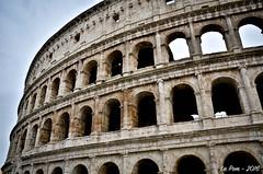 Colise de Rome (La Pom ) Tags: rome roma italia colisseum colise