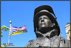 Firefighters Memorial (wjis21) Tags: monument statue memorial britishcolumbia parliament fireman firefighters parliamentbuildings legistature legislativebuilding bcpffa