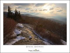 Spring Showers (DKNC) Tags: winter snow sunrise nc spring northcarolina blueridgeparkway beaconheights daleking