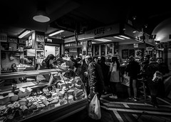 Cheese Counter (davidjhumphries) Tags: ireland cheese canon shopping counter market cork streetphotography saturday stall wideangle fresh produce organic purchase englishmarket browse 0316 2016 cheesemonger 1740mml 120316 5d2